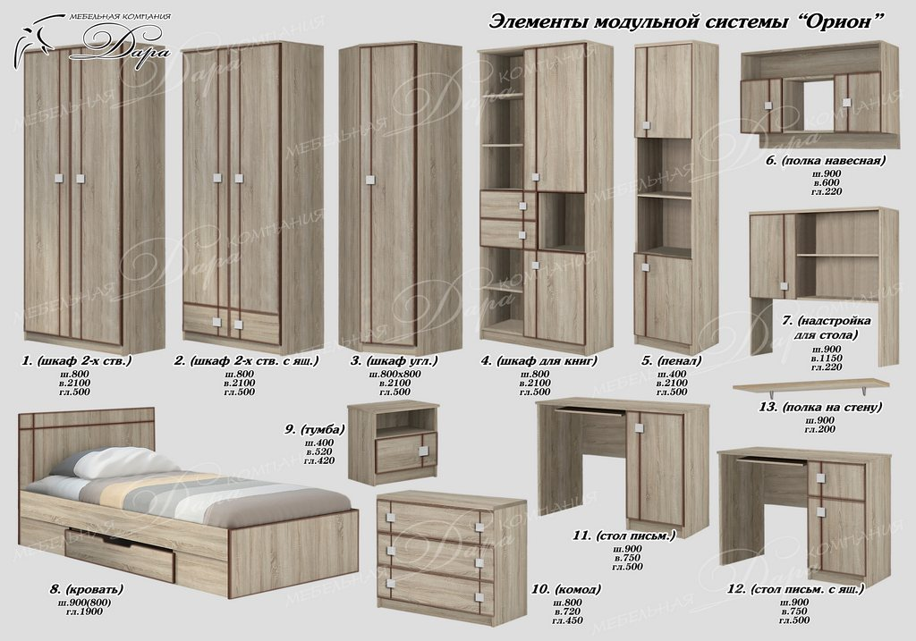 Корпусная мебель оптом от производителя с доставкой по России